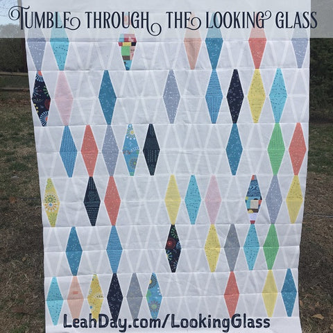 Tumble Through the Looking Glass Quilt Pattern