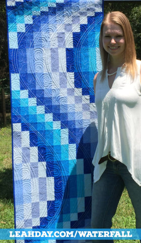 Waterfall Bargello Workshop with Leah Day