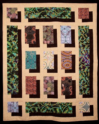 fabric shadow showcase quilt