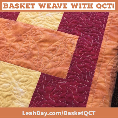 Basket Weave with QCT background