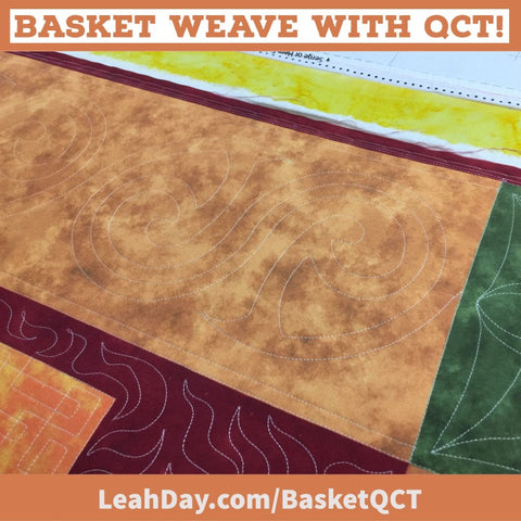 Basket Weave QCT Quilting Border