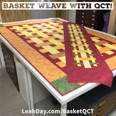 Basket Weave with QCT Quilt Along