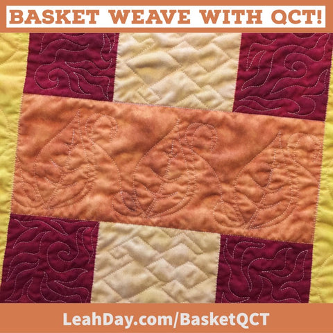 Basket Weave with QCT Rectangle