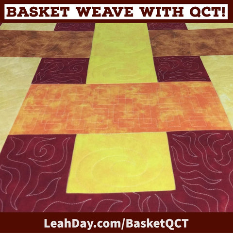 Basket Weave with QCT quilting plan