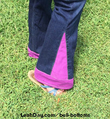 Bell-bottoms sewing tutorial / flare pants sewing tutorial