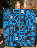 Leah Day beginner Building Blocks Quilt