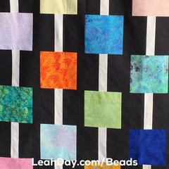 Chain of beads quilt pattern