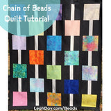 Chain of Beads Free Quilt Pattern and Tutorial