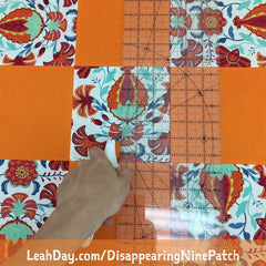 Disappearing Nine Patch Quilt Tutorial