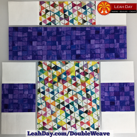Double Basket Weave Quilt Pattern With JOANN Fabrics LeahDay Awesome Basket Weave Quilt Pattern