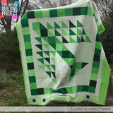 How to quilt to the edge of longarm frame with pantographs