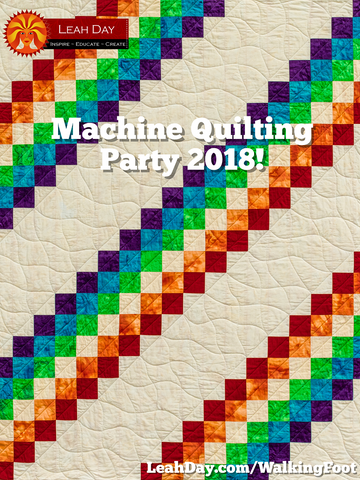 Prism Path Baby Quilt | Machine Quilting Party