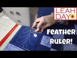 feather ruler longarm quilting