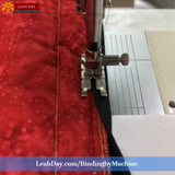How to bind a quilt by machine