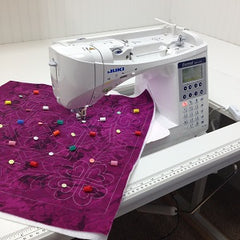 flatbed sewing table for quilting