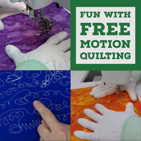 Fun with Free Motion Quilting Guild Presentation