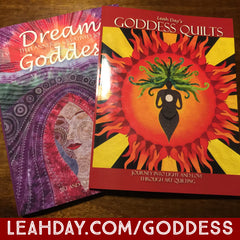 Leah Days Goddess Quilts Book and Creativity Planner