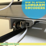 how to attach longarm encoders