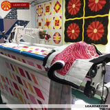 how to load a longarm frame