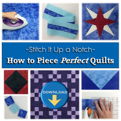 How to Piece Perfect Quilts Book