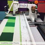how to quilt with pantographs