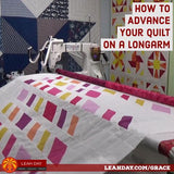how to advance quilt on longarm
