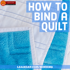 how to bind a quilt | quilt binding tutorial
