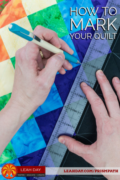 How to Mark Your Quilt