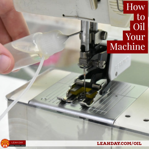 How To Clean And Oil Your Machine LeahDay Unique How To Oil A Sewing Machine