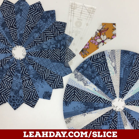 How To Piece A Dresden Plate Quilt Block With The Slice Ruler