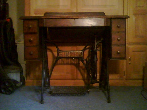 Singer treadle base
