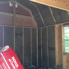 insulating a shed | how to insulate a shed