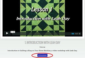 Downloading Tips for LeahDay.com