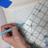 walking foot quilting gridlines