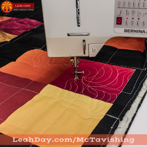 Learn How To Free Motion Quilt Mctavishing Leahday Com