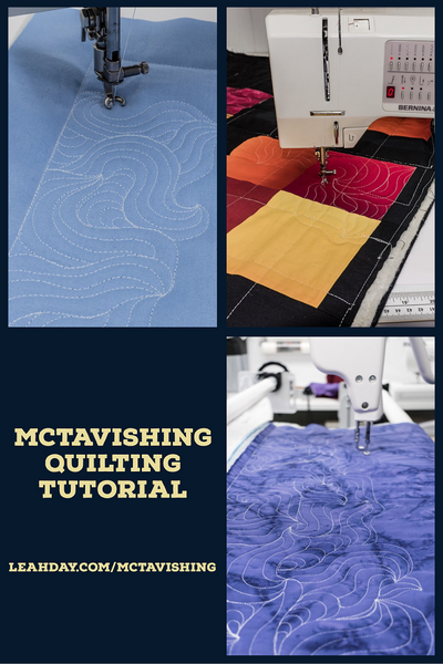 how to quilt mctavishing | quilting tutorial
