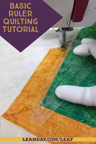 easy ruler quilt video