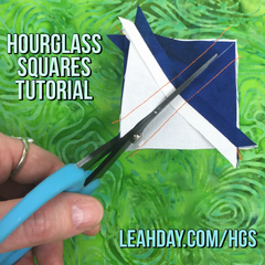 How to Piece Hourglass Squares