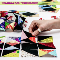 Friendship Sampler Block of the Month Quilt Along