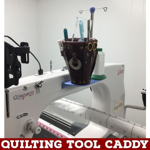 Quilting Tool Caddy Handmade by Leah Day