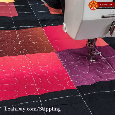 how to quilt Stippling | quilting tutorial
