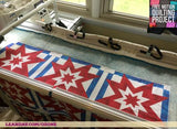 how to finish a quilt on qzone hoop frame