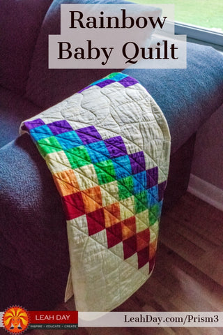 Prism Path Baby Quilt Along