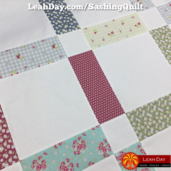 Sashing Splendor Free Quilt Pattern