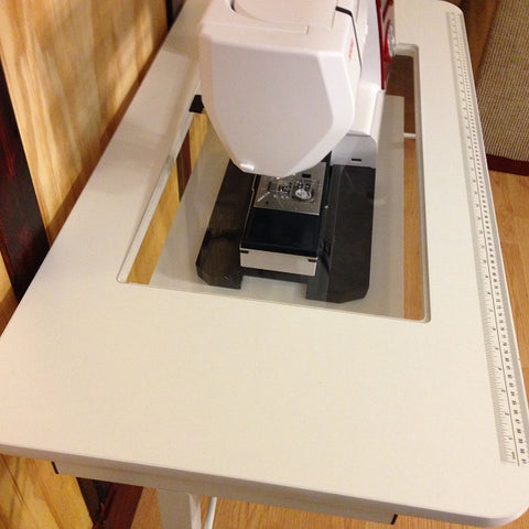 Custom Cut Insert for Sewing Machine Table