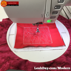 Modern Designs Machine Embroidery Tips