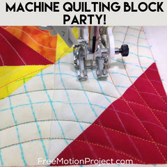 Sunshine Surprise Walking Foot Quilting