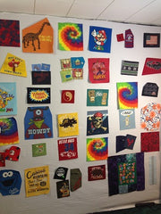how to make a tshirt quilt | T-shirt quilt