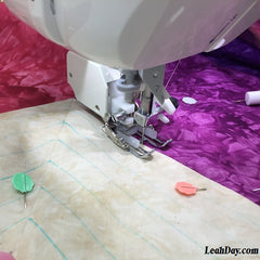 Walking foot quilting for beginners