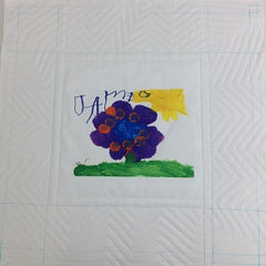 walking foot t shirt quilt